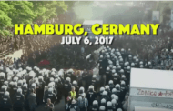 Short video from ''Welcome to Hell'' March against G20 meeting - Hamburg